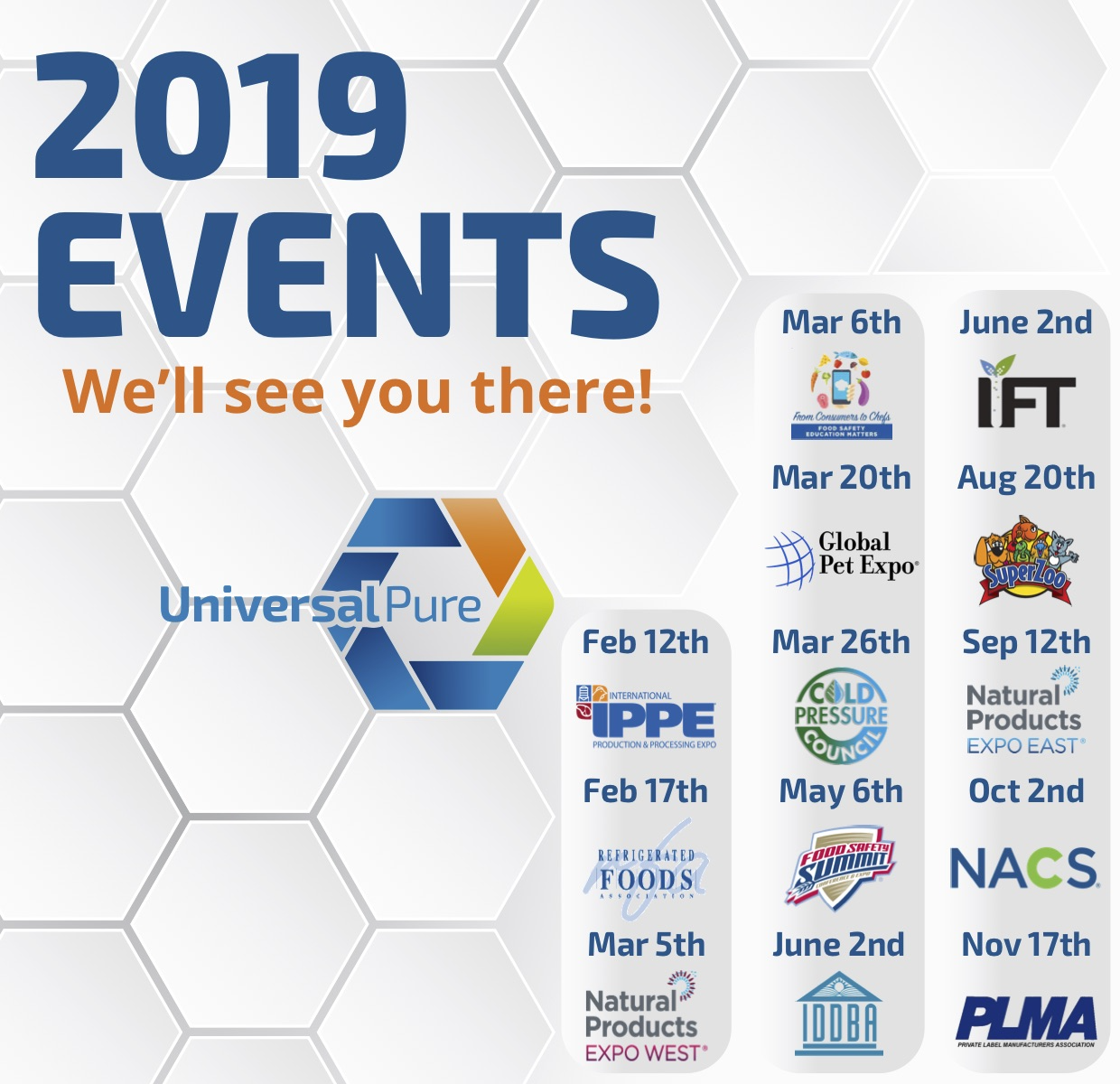 News & Resources – Events - Universal Pure